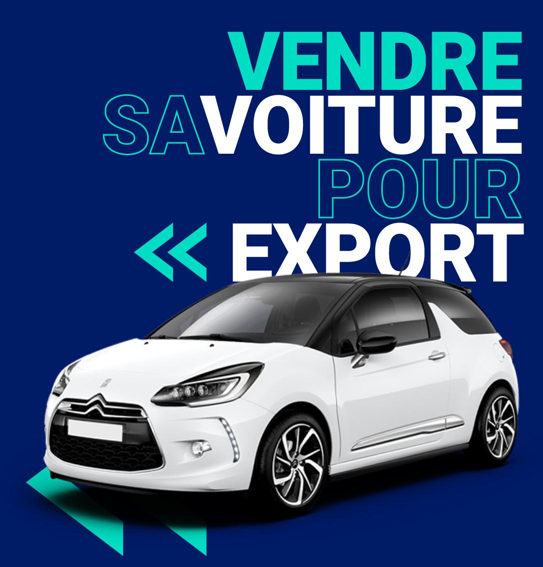 Vendre sa voiture export